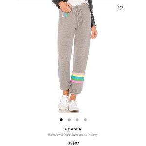 Revolve - Chaser Brand Rainbow Stripe Love Bottoms